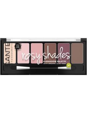 Sante Eyeshadow Palette, rosy shades