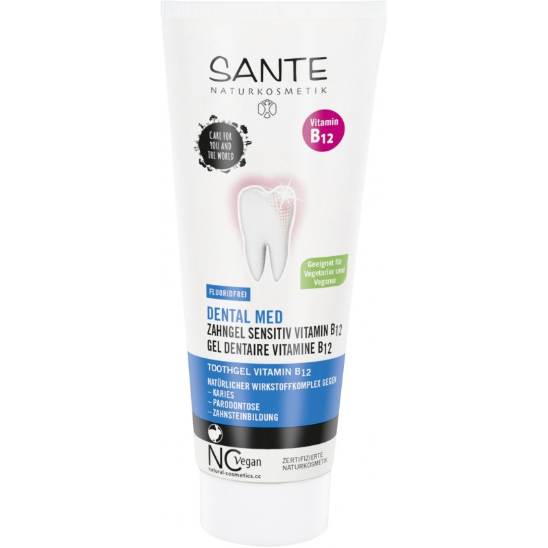 DENTAL MEDICAL TOOTHPASTE VITAMIN B12 without fluoride