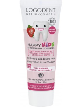 HAPPY KIDS Strawberry Toothgel